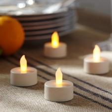 Свечи маленькие круглые арамотизированные
