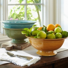 Чаша для фрутов Ceramic Yellow